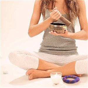 Ohm Store Tibetan Meditation Yoga Singing Bowl Set