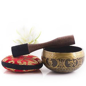 Silent Mind Tibetan Singing Bowl Set