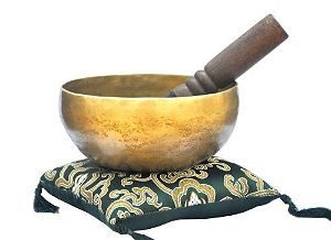 6in Superb B Crown Chakra Old Tibetan Singing Bowl, Meditation bowls