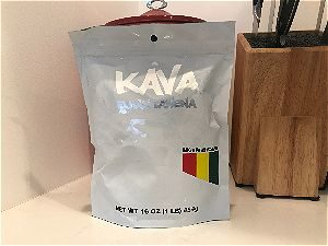 Wakacon Kava Review Fijian Lawena Bag