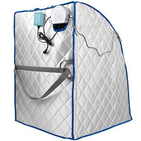 infraspa Infrared FAR IR Negative Ion Portable Indoor Personal Spa Sauna