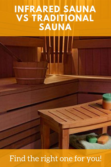 infrared sauna vs traditional sauna
