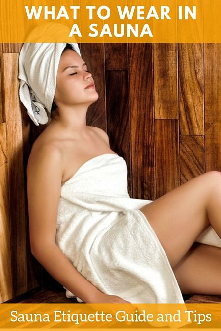 What to wear in a sauna